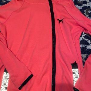 VS HOT electric pink hot pink jacket